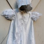 angel gown with bonnet
